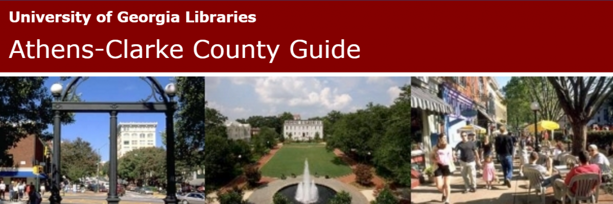 Click here to visit the UGA Libraries Athens Guide