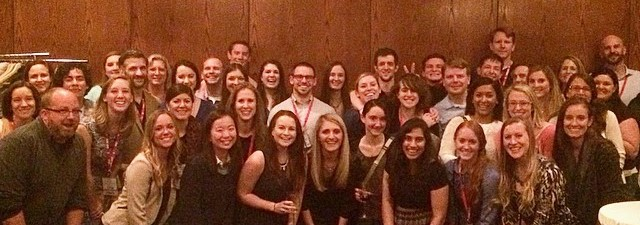 UGA IO Faculty and Students at the 2015 SIOP reception